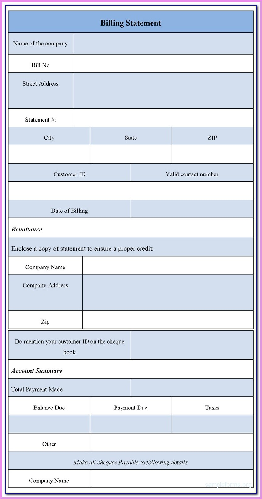 Aia Billing Forms Free