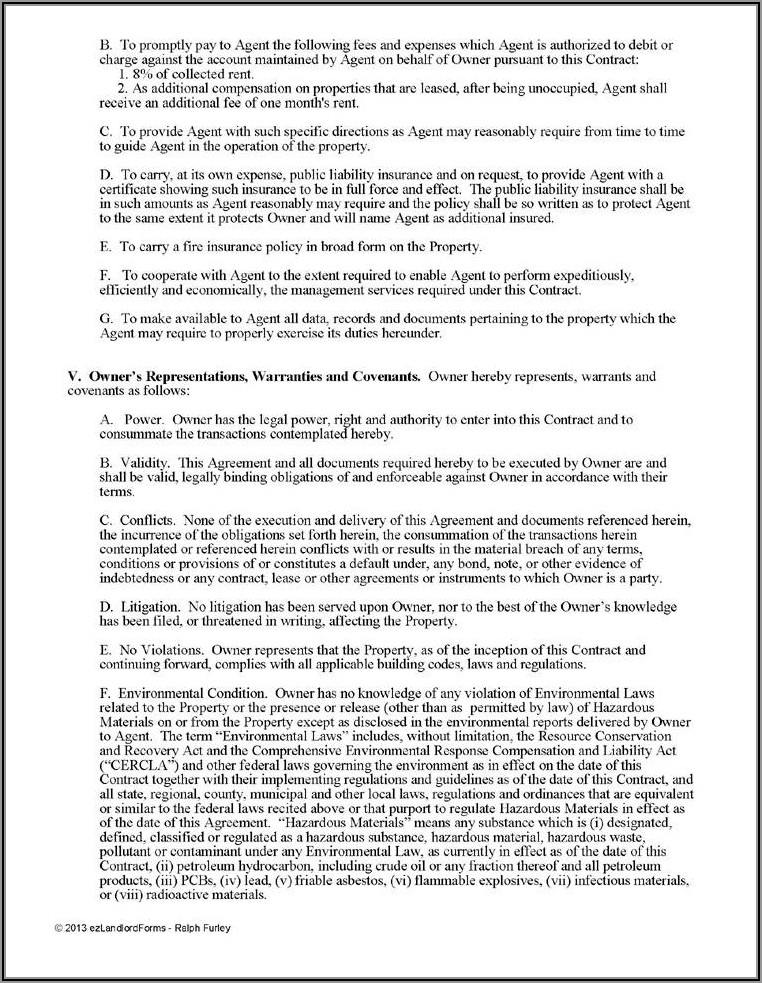 Artist Management Agreement Template Free