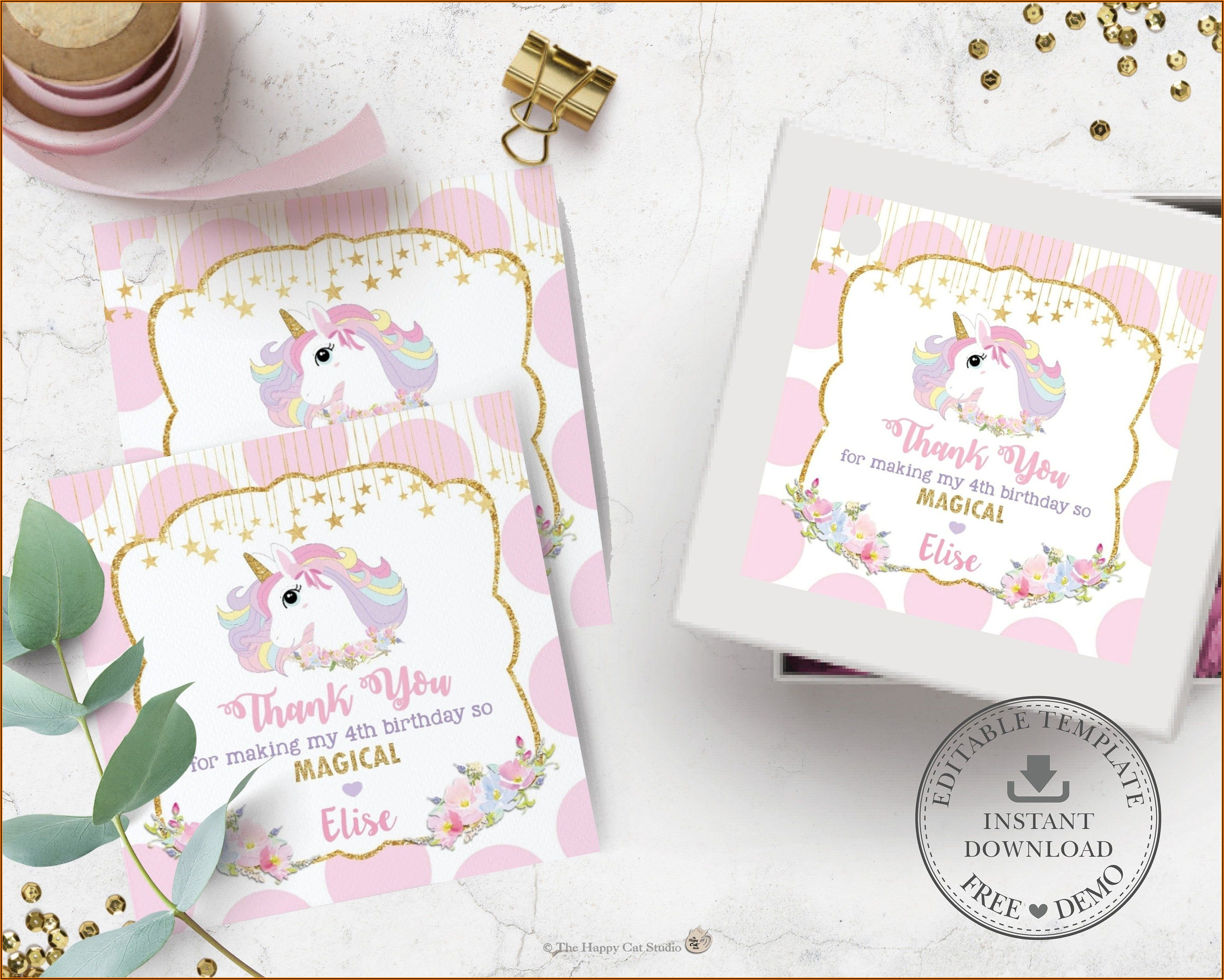 Baby Shower Gift Labels Template