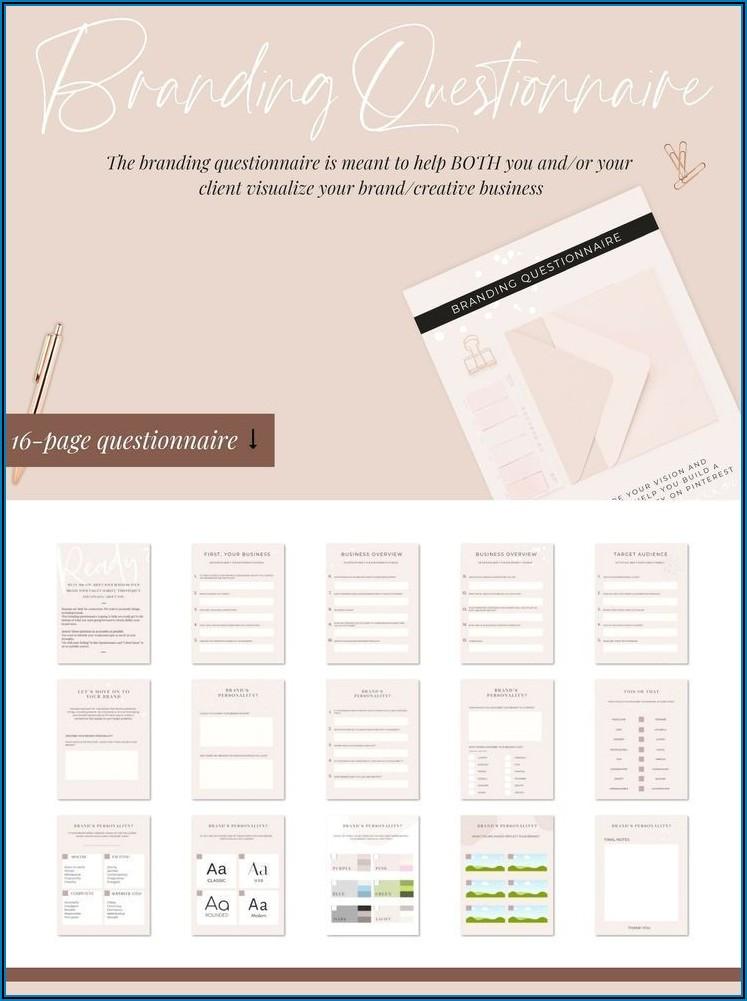 Business Process Questionnaire Template