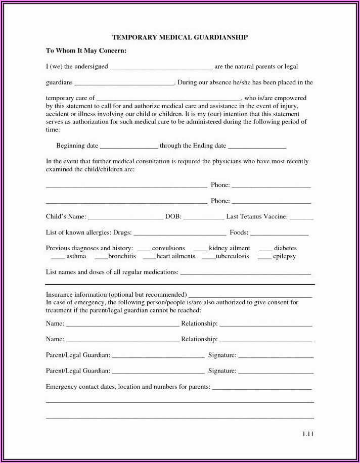 Child Custody Forms Texas Pdf