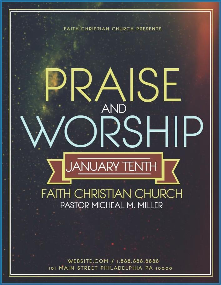 Church Invitation Design Templates
