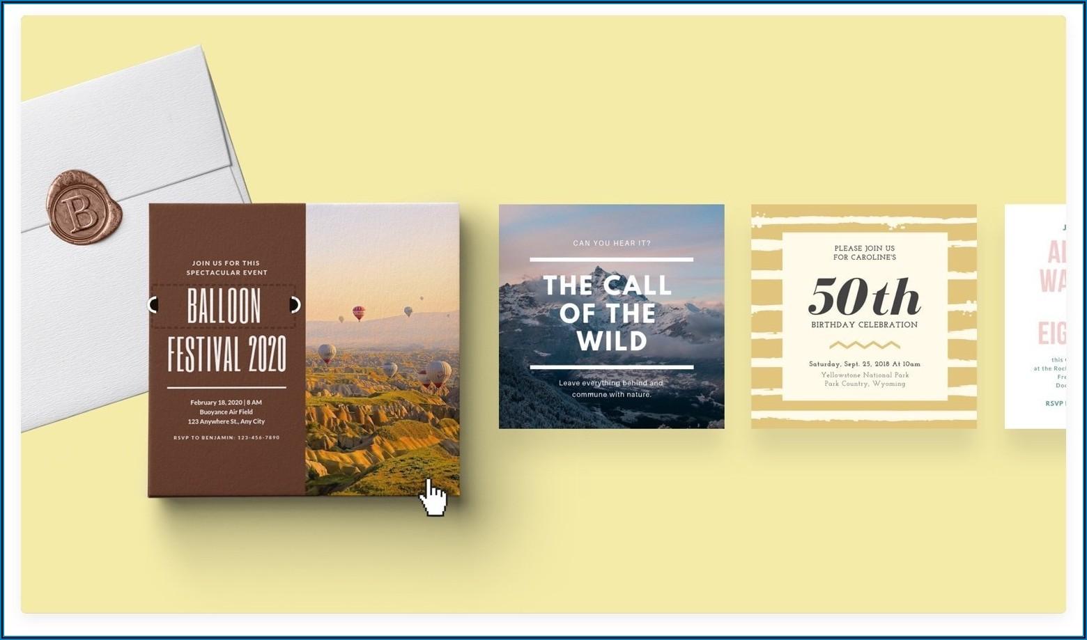 Church Program Invitation Templates