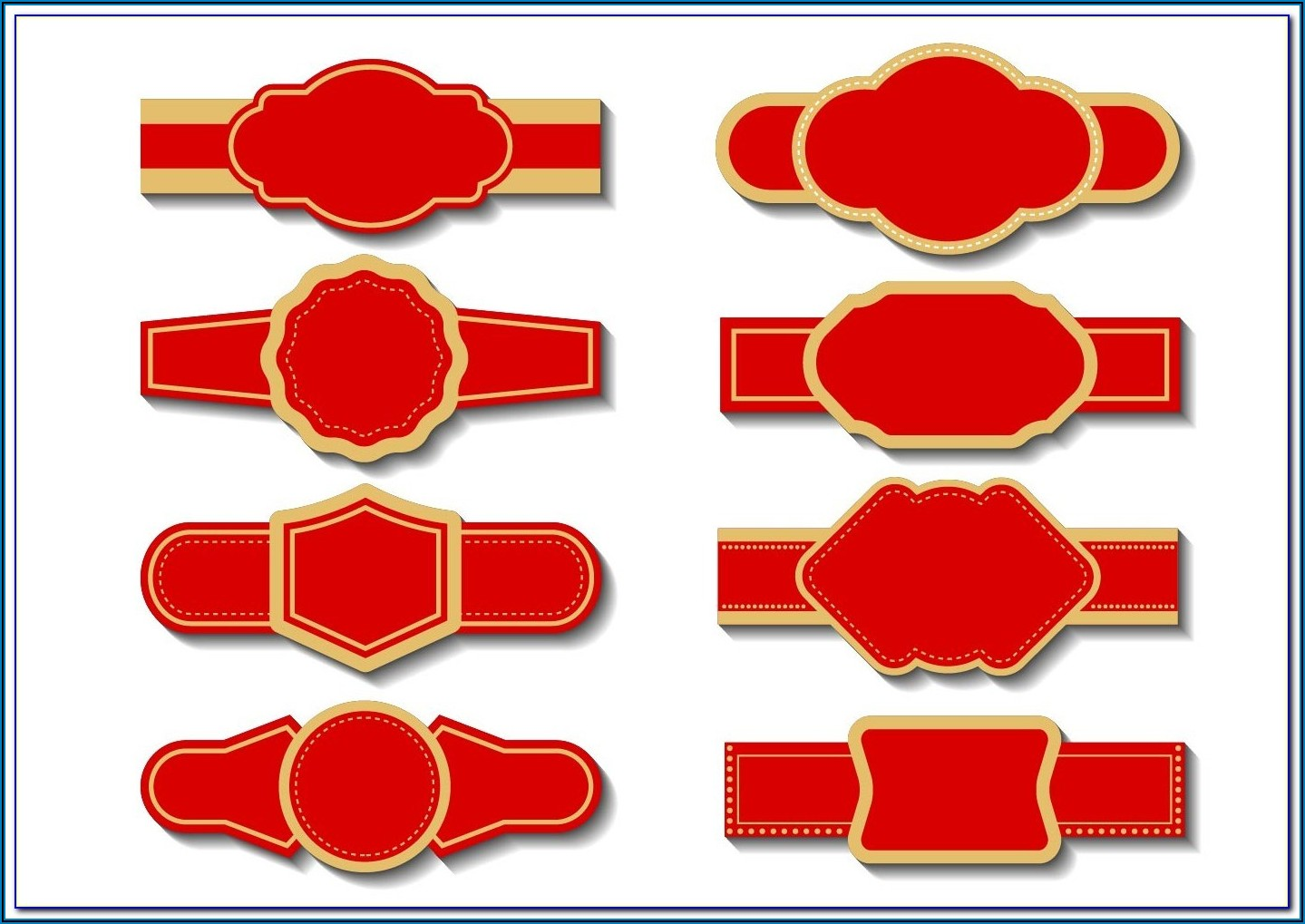 Cigar Band Template For Soap Label