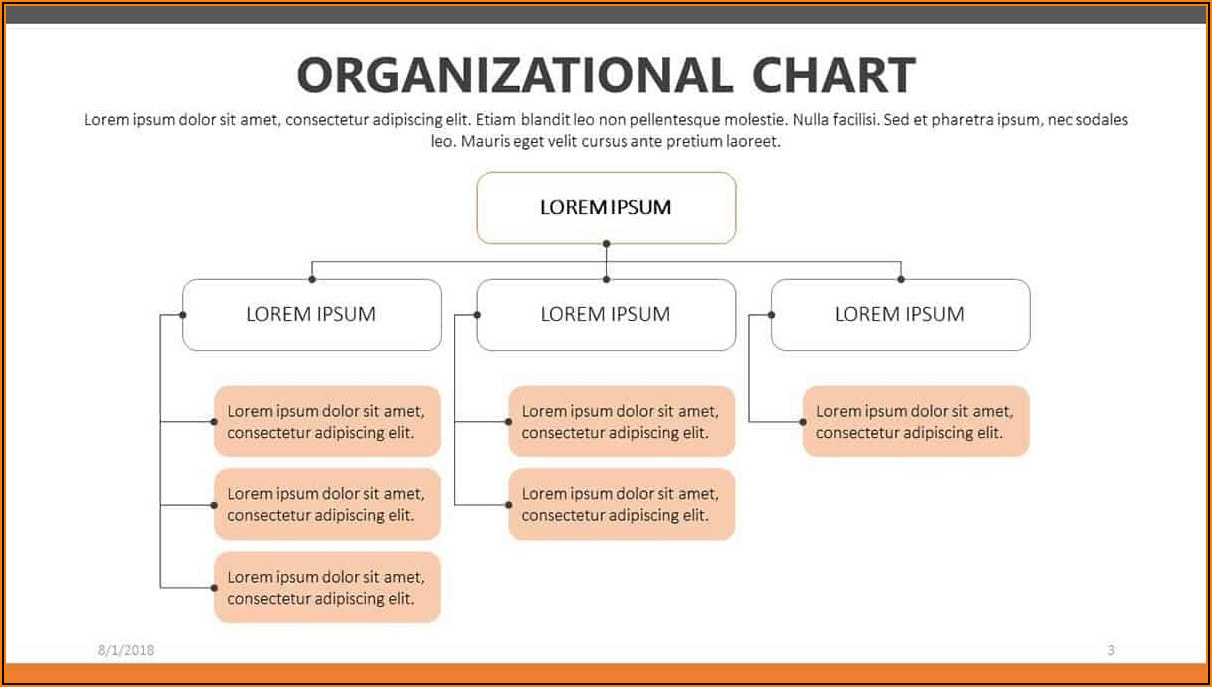 Construction Company Organizational Chart Template Download