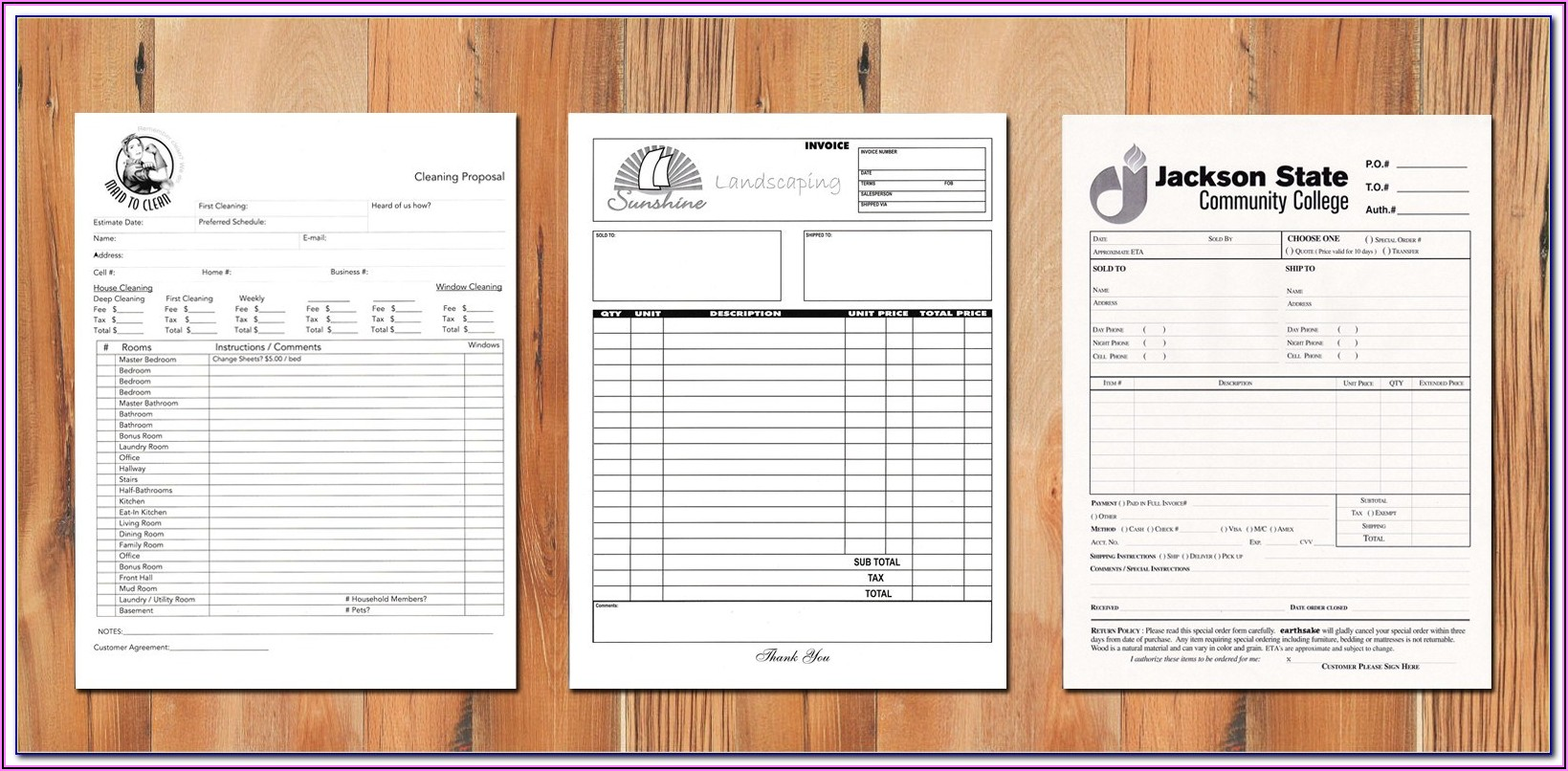 Continuous Business Forms Printing