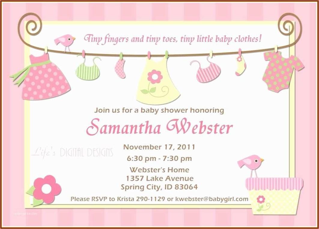 Create Free Baby Shower Invitation Templates