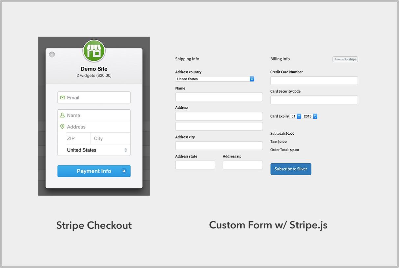Customize Stripe Checkout Form