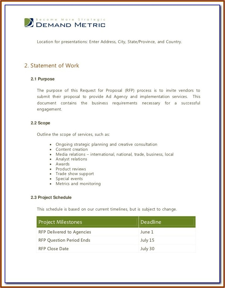 Digital Marketing Agency Agreement Template