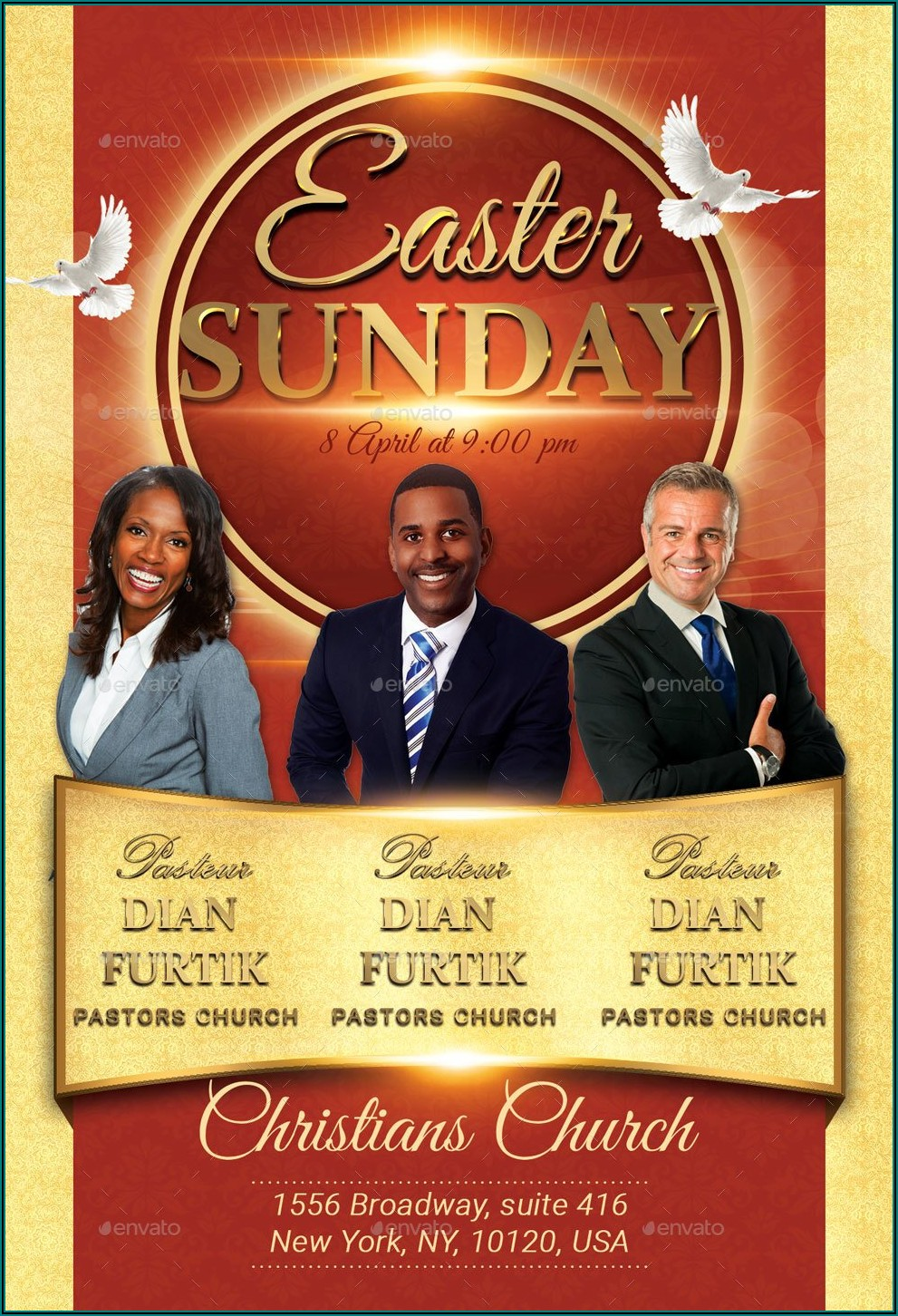 Download Church Flyer Template Psd Online For Free Without Payment