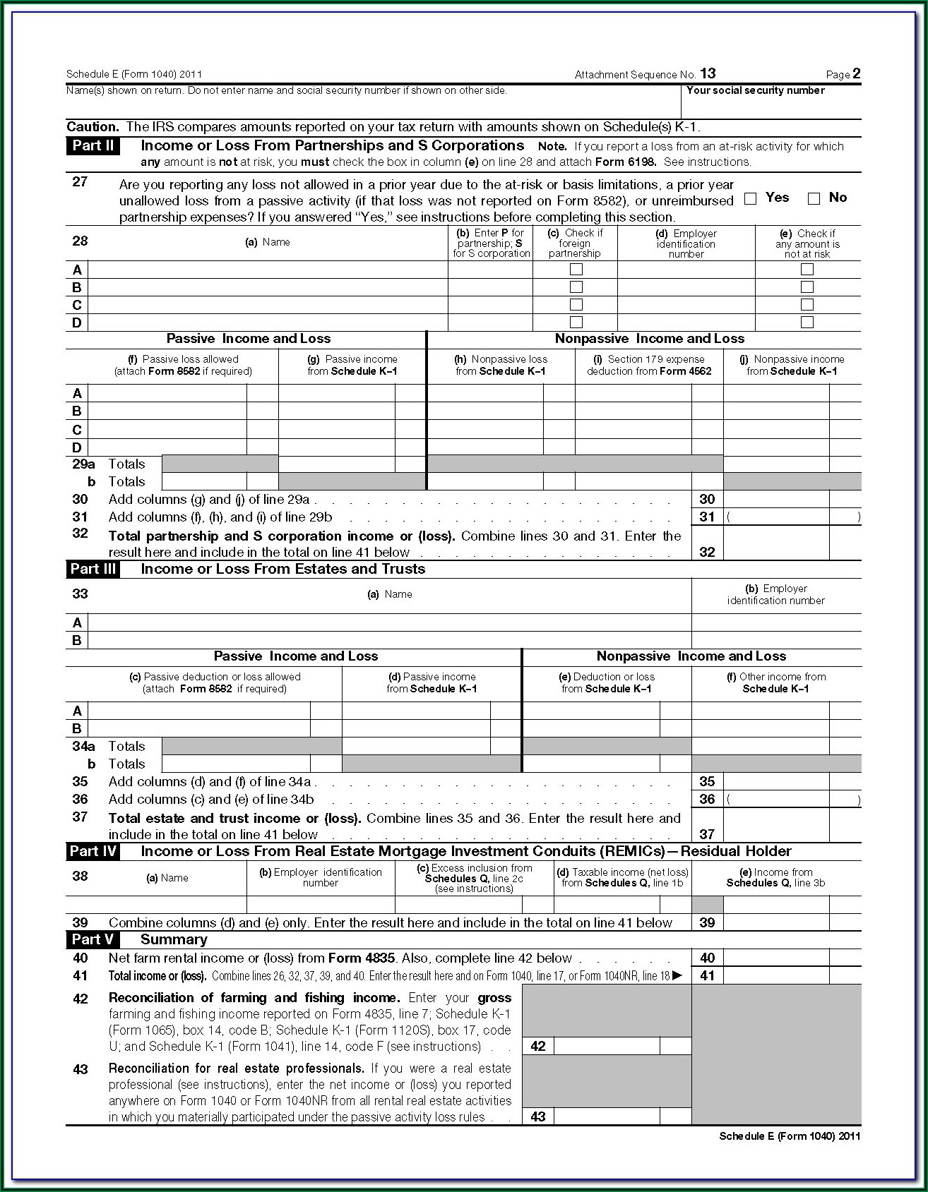 Download Federal Tax Form 1040a
