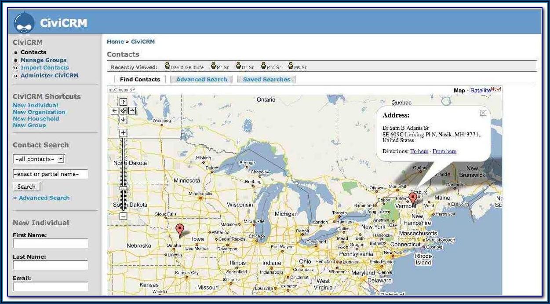 Dynamics Crm Google Maps