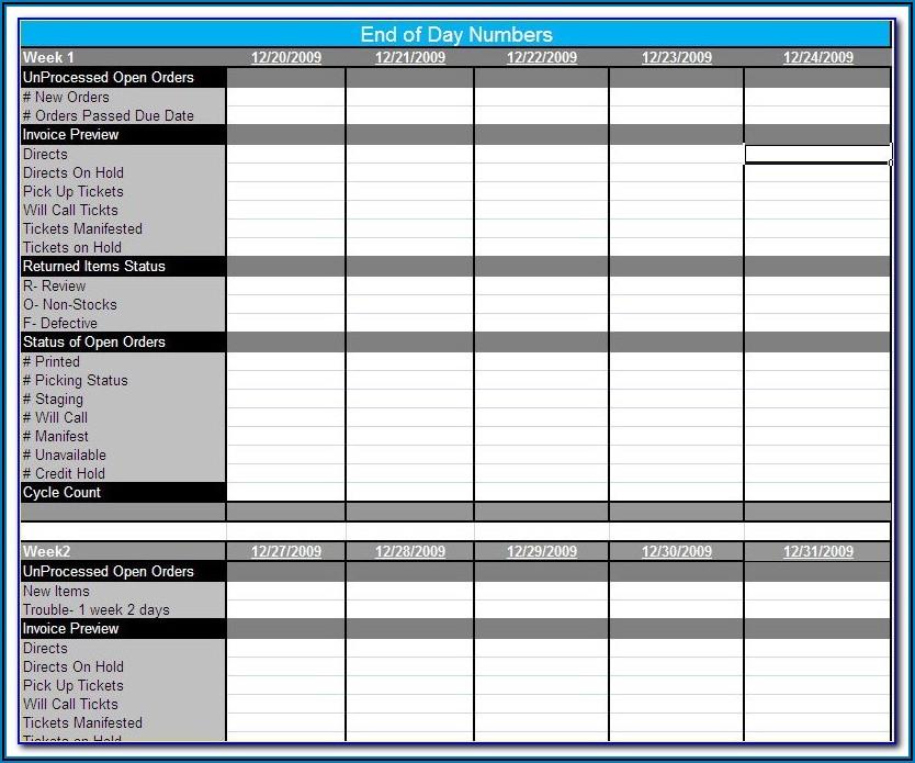 Erp Implementation Plan Template