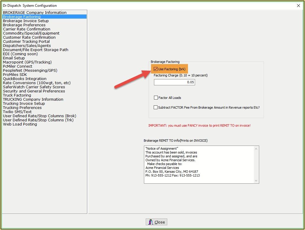 Factoring Invoices In Quickbooks Online