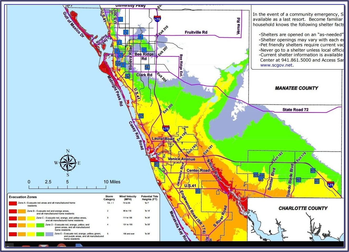 Fema Flood Zone Map Sarasota County Florida