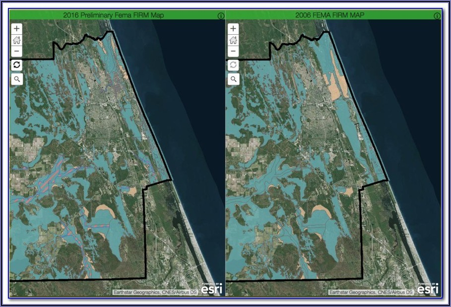 Fema Flood Zone Maps Bay County Florida