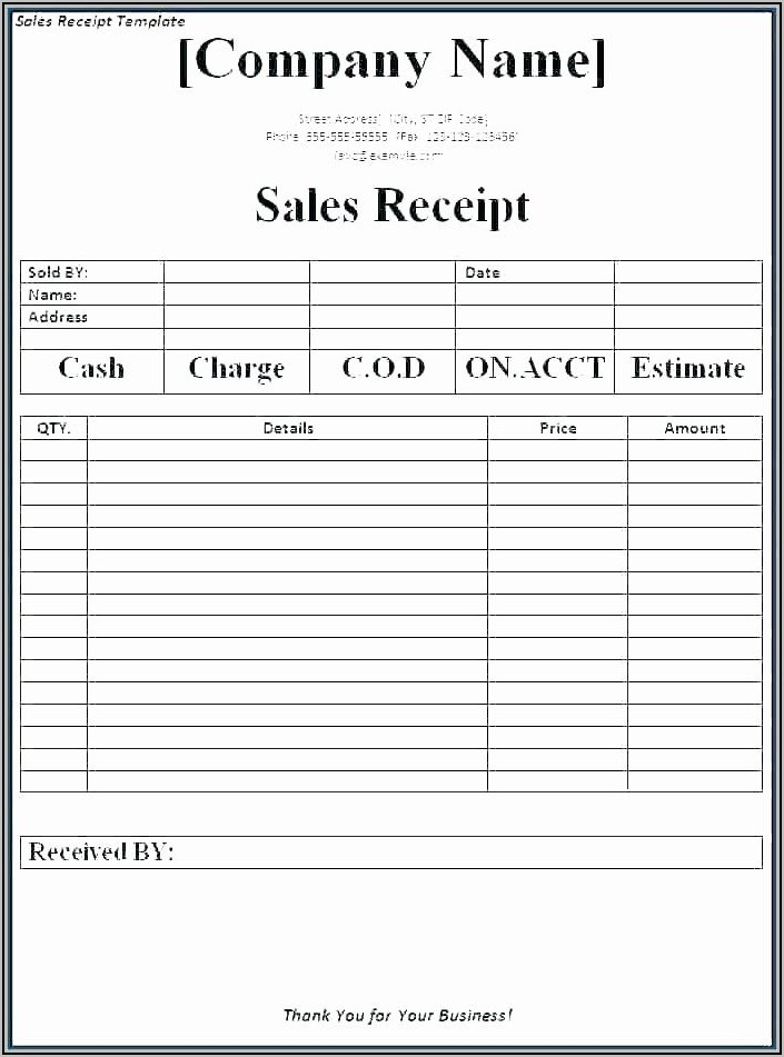 Fillable Auto Repair Invoice
