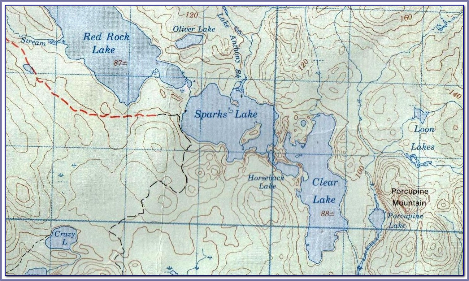 Fishing Maps Ontario Lakes