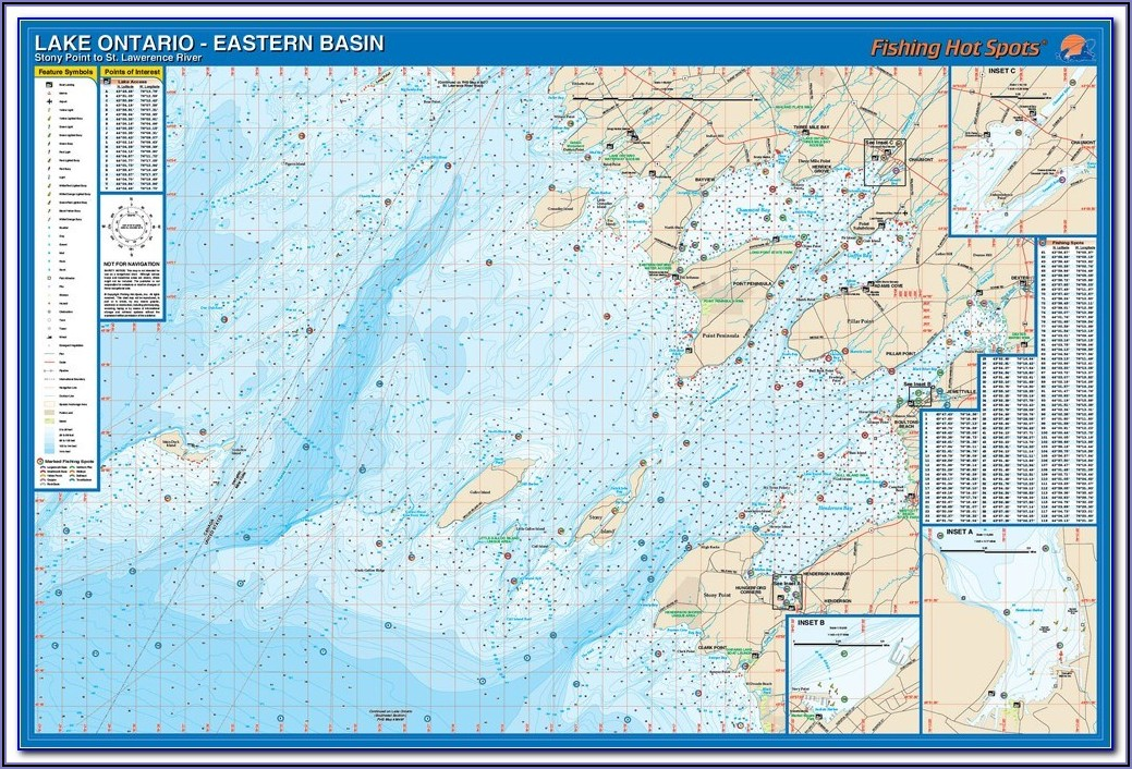 Fishing Maps Ontario