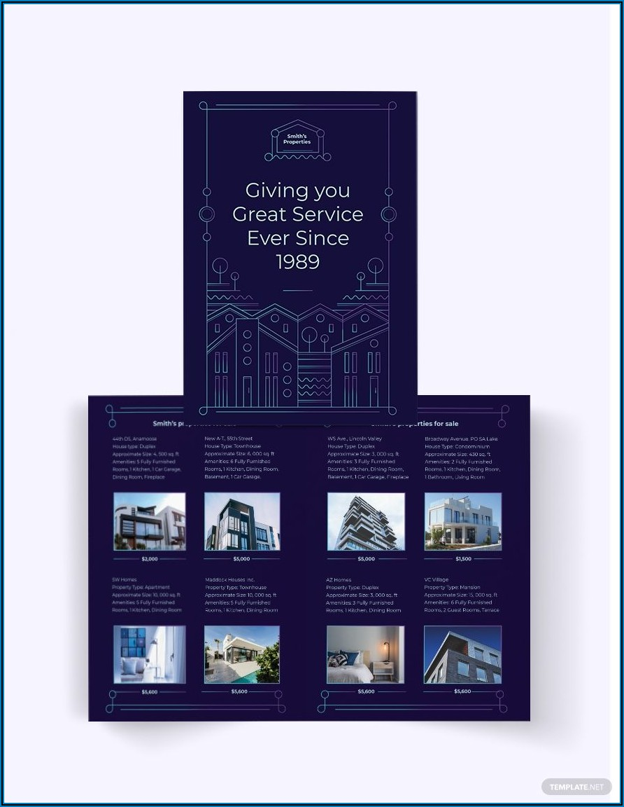 For Sale By Owner Brochure Template