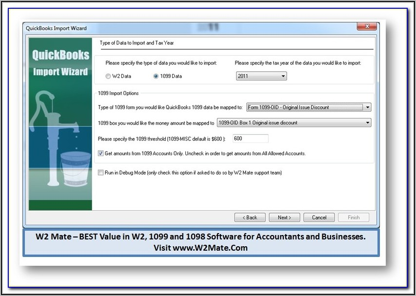 Form 1099 Software Providers