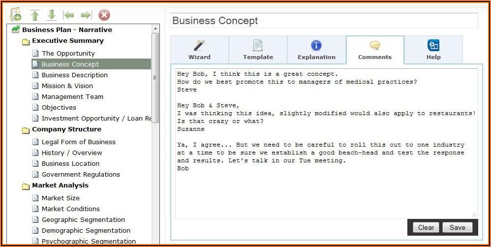 Franchise Business Plan Format