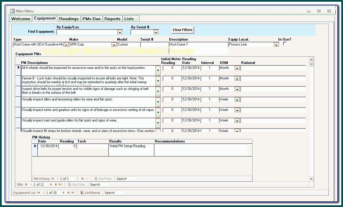 Free Access Timesheet Database Template