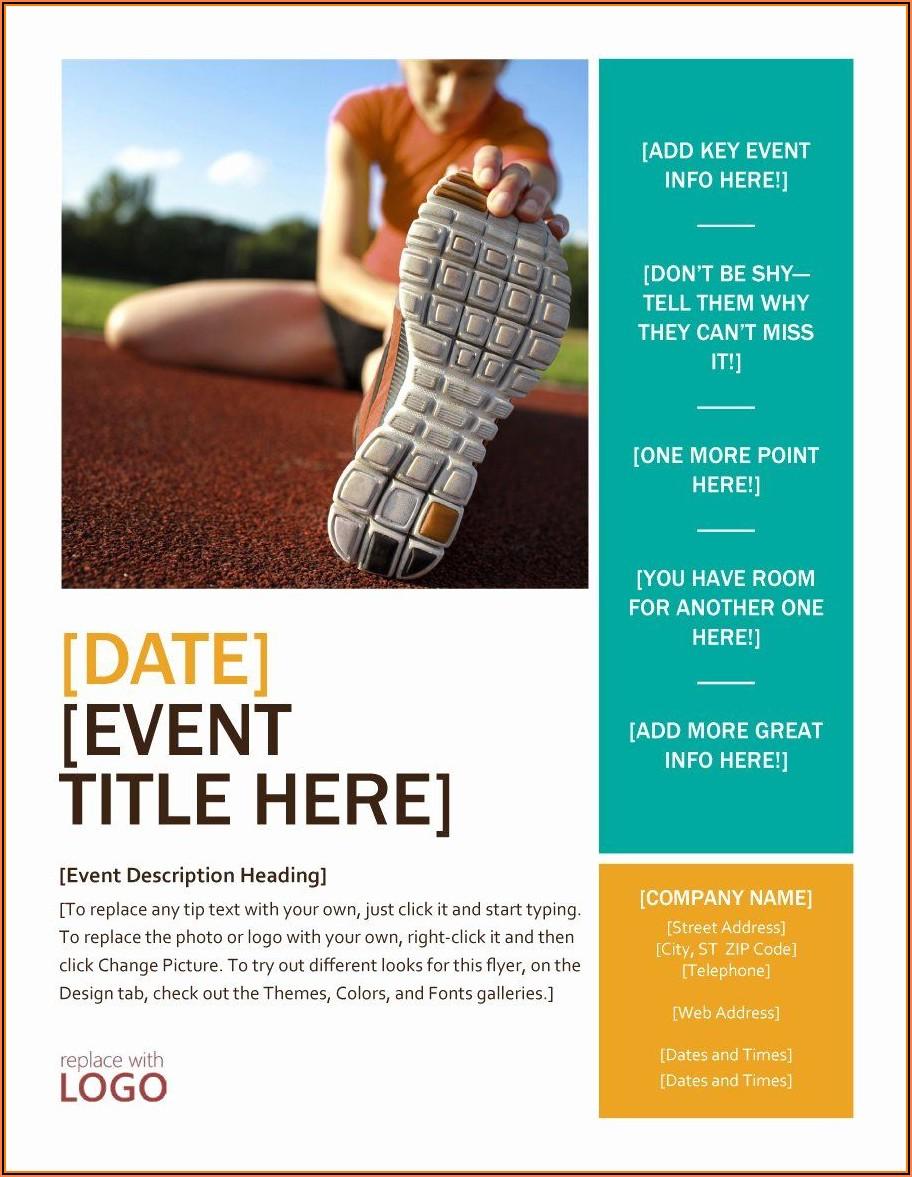 Free Printable Event Templates