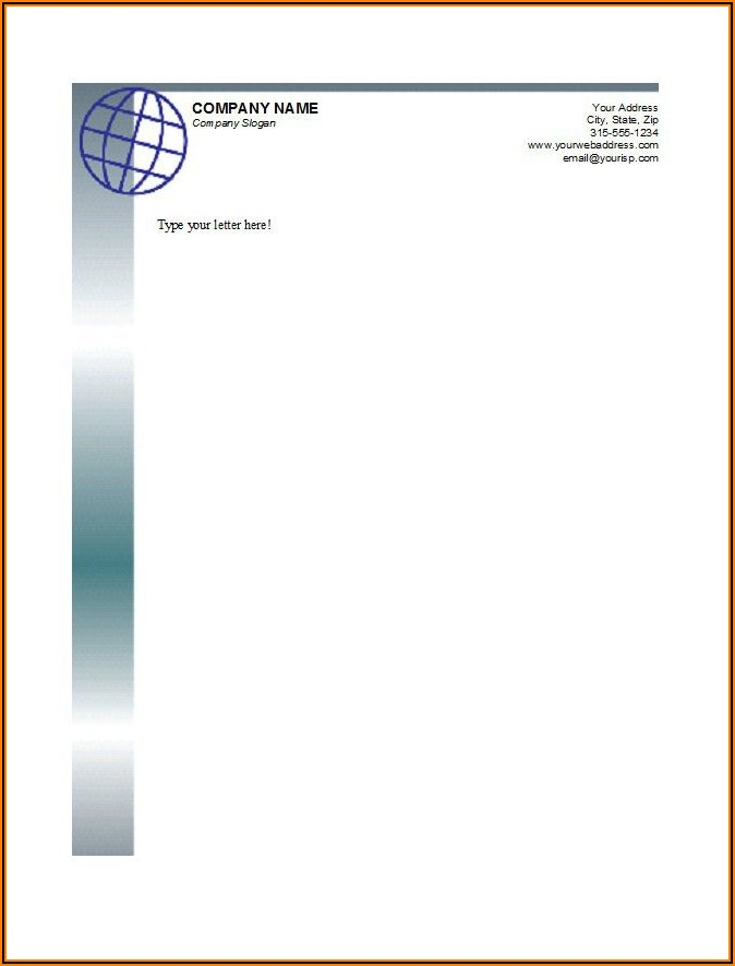 Free Templates For Business Letterheads