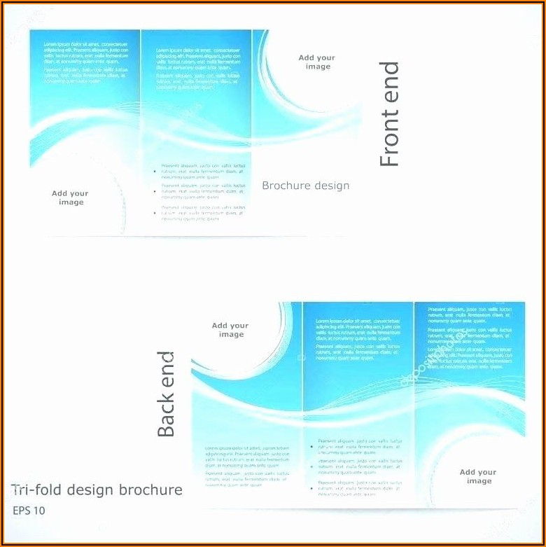 Free Two Sided Brochure Template