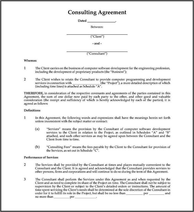 Freelance Web Design Contract Template