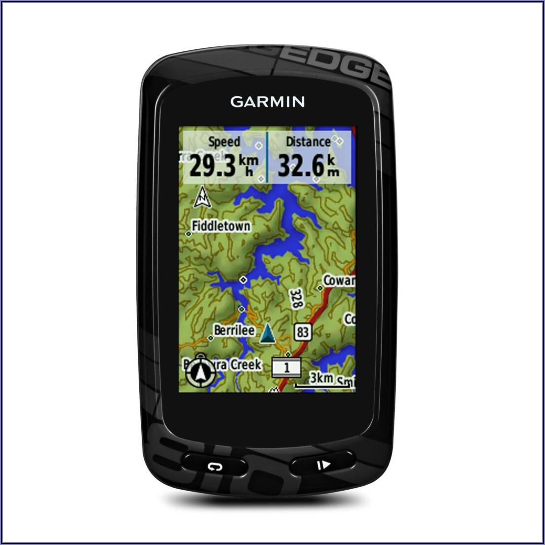 Garmin Edge 810 Maps