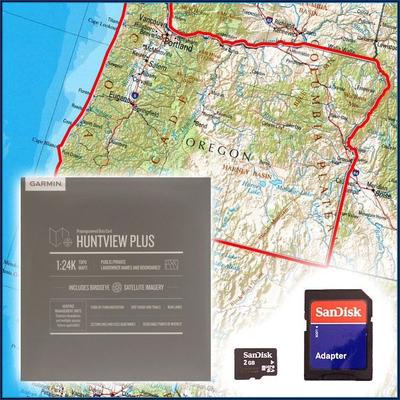 Garmin Oregon Maps On Sd Card