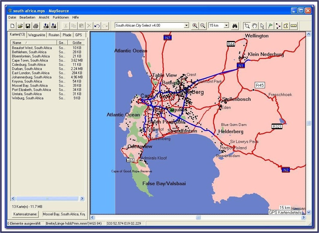 Garmin Southern Africa Maps Download