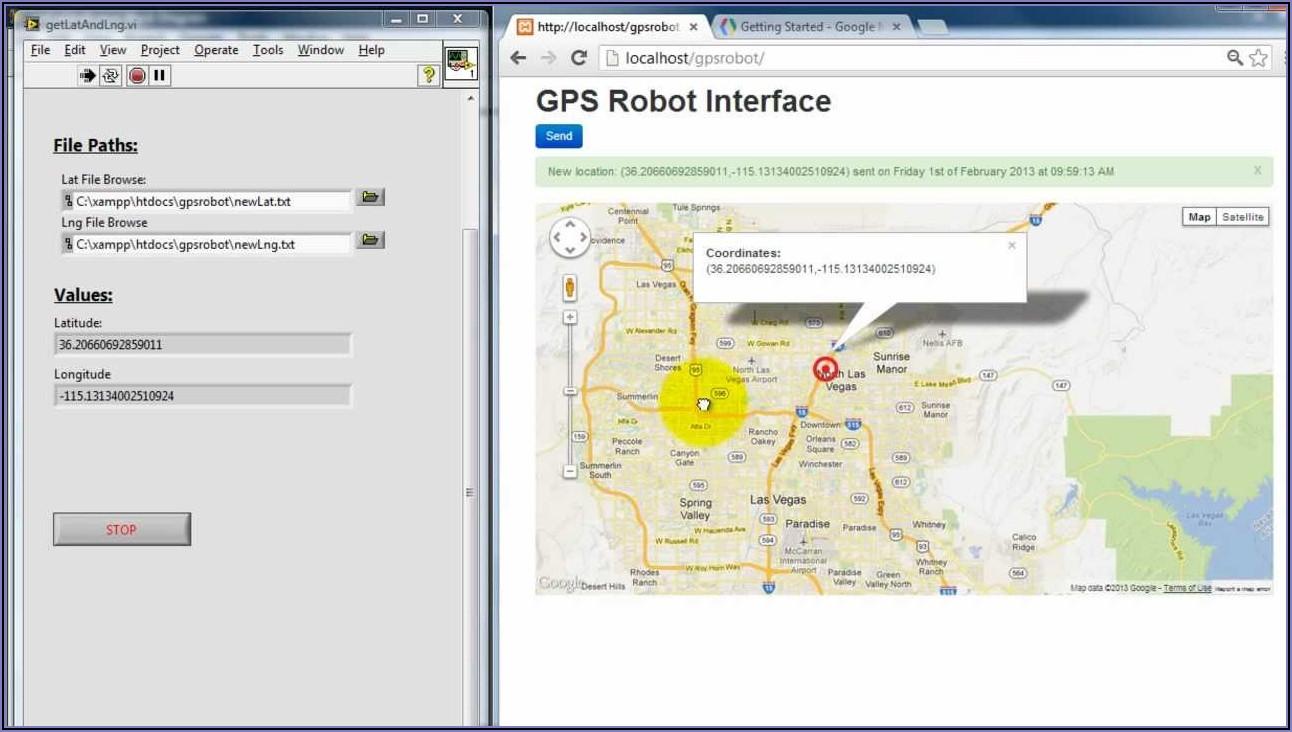 Gps Tracker Google Maps Api