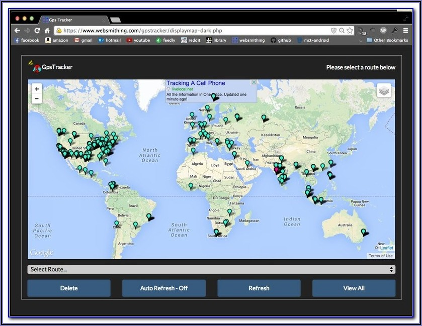 Gps Tracker Map Online