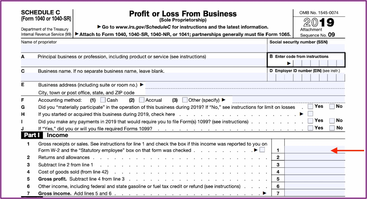 How To Fill Out 1099 Form For Self Employed