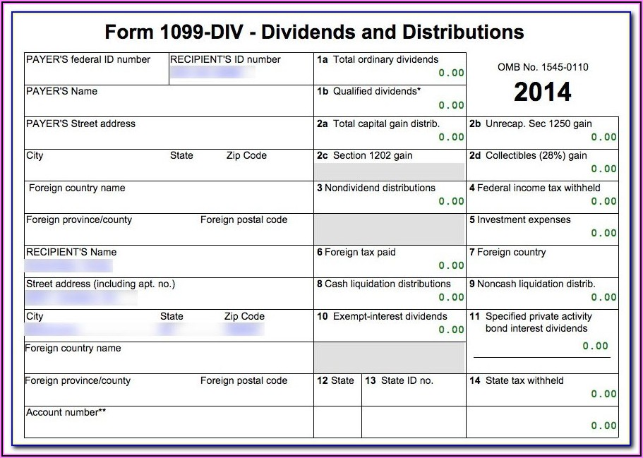 How To Fill Out 1099 Forms