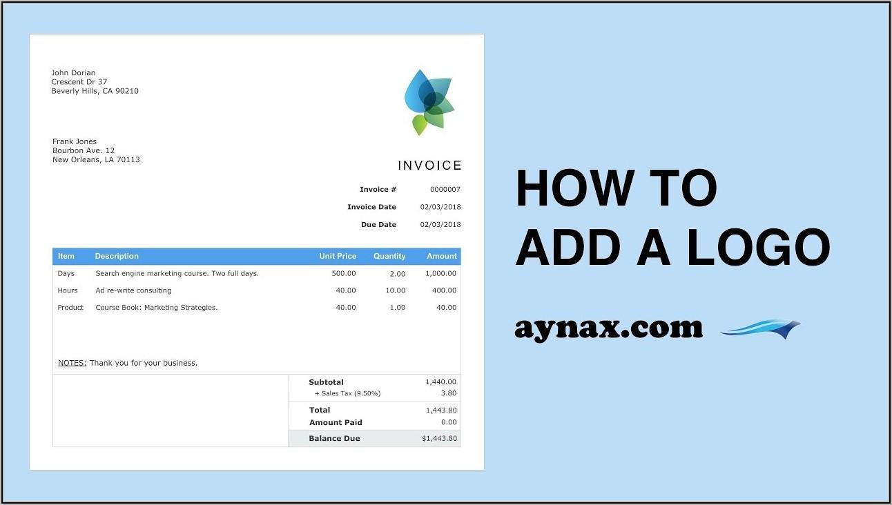 Invoice Template Free Printable Invoice Skynova.com