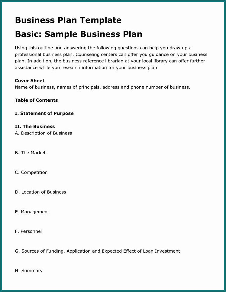 Landscaping Business Plan Examples