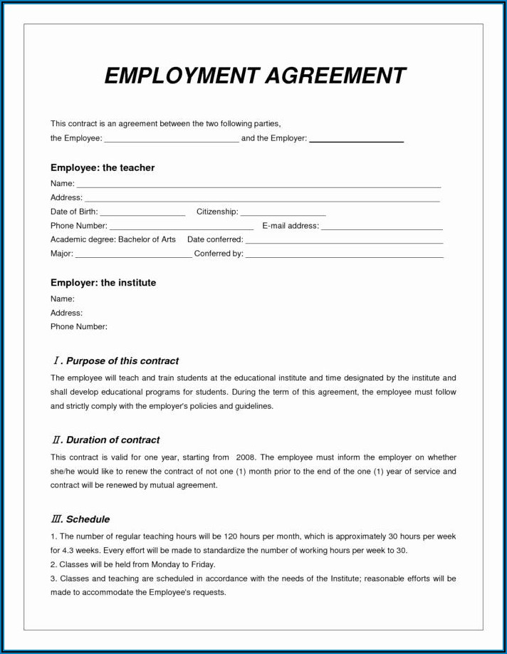 Locum Pharmacist Contract Template