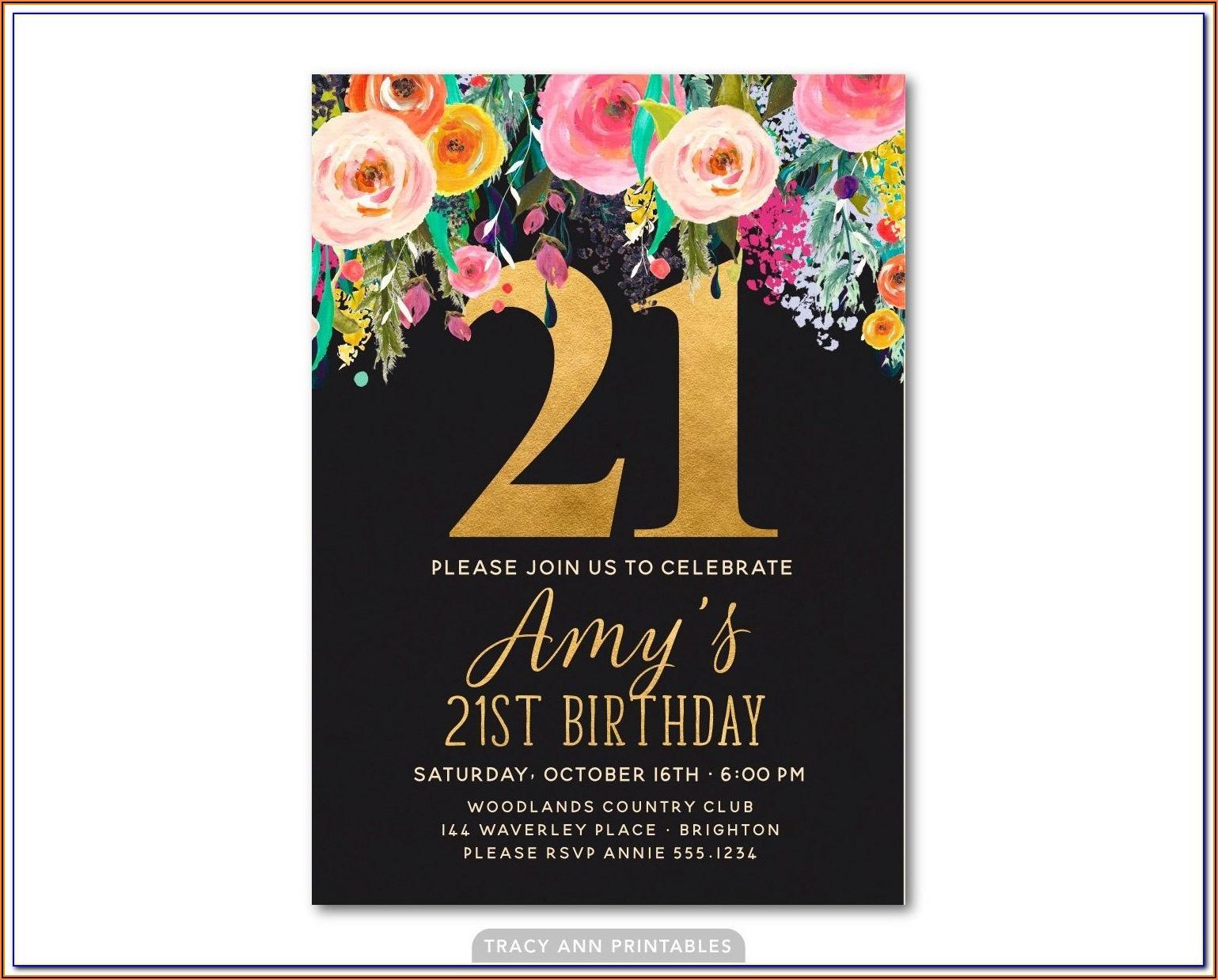 Male 60th Birthday Invitation Template