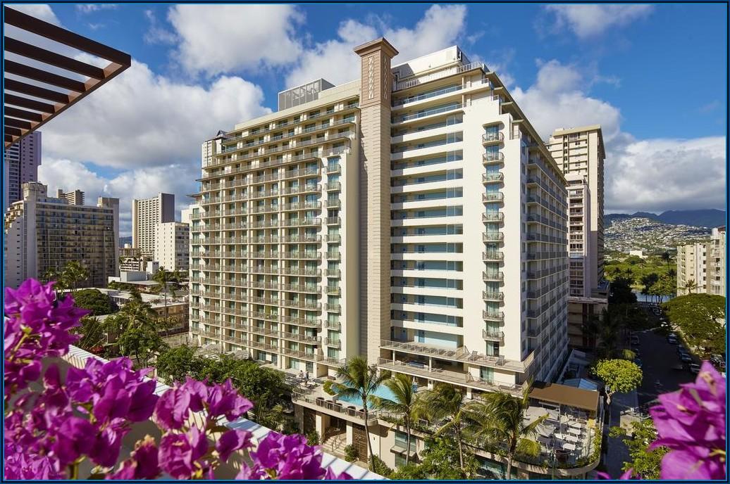 Map Hilton Waikiki Beach Hotel