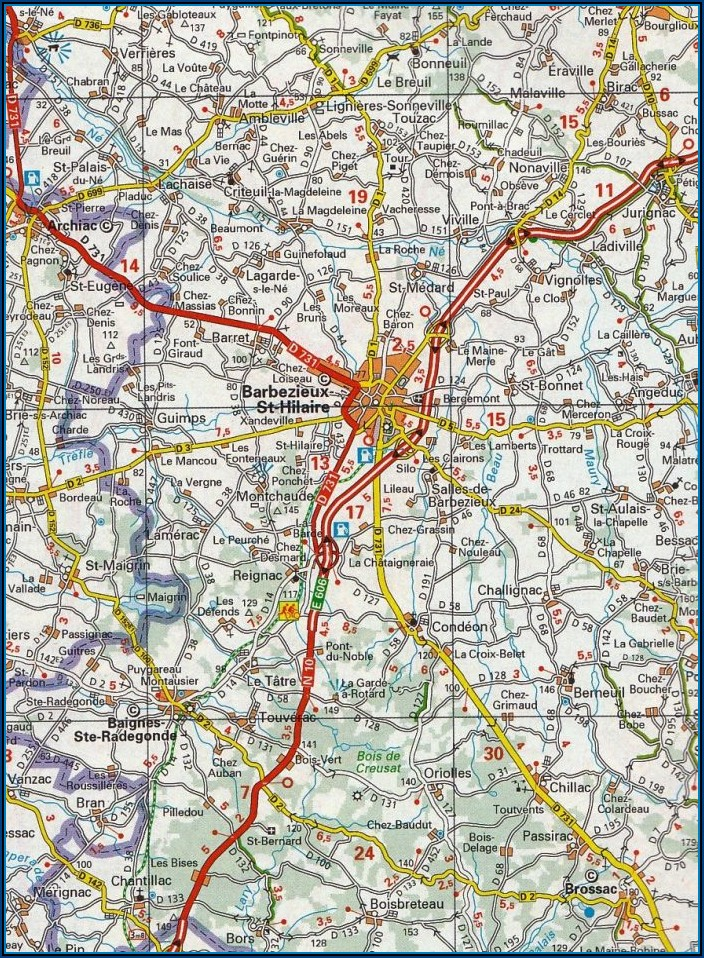 Maps France Michelin