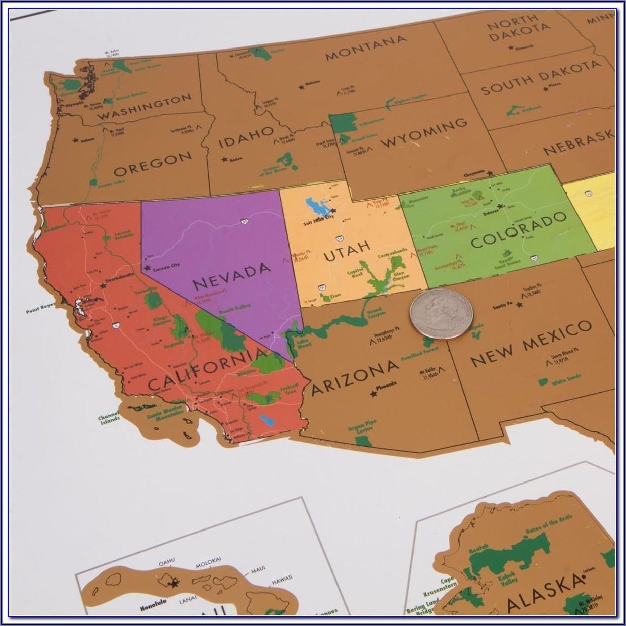 Maps Of National Parks In Usa