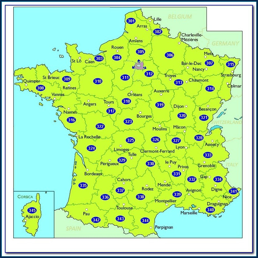 Michelin Maps France 518