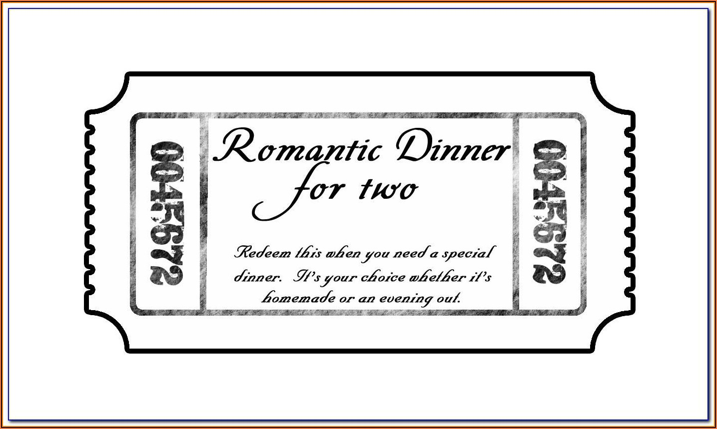 Microsoft Publisher Event Ticket Template