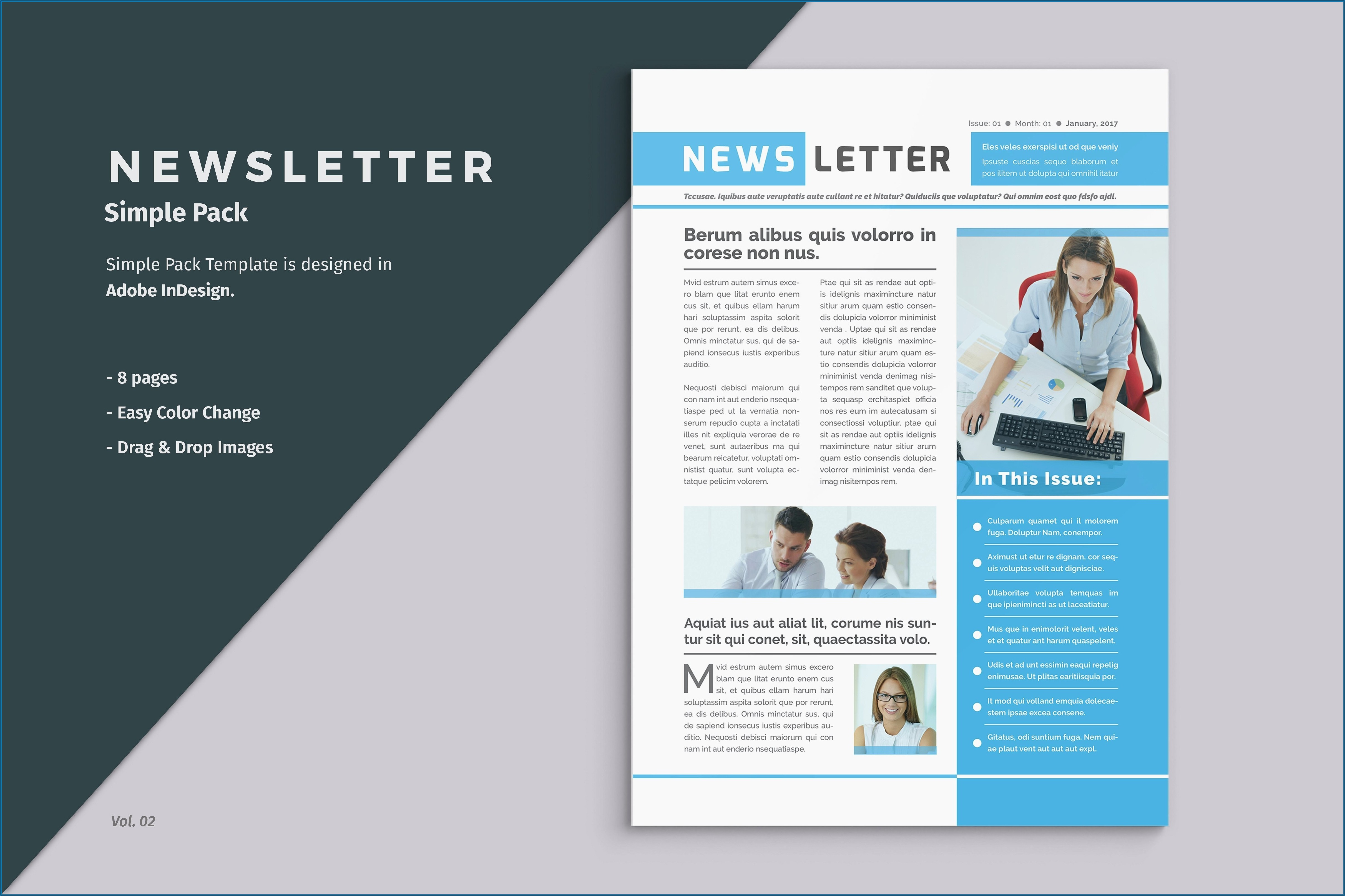 Microsoft Publisher Newsletter Template Free Download