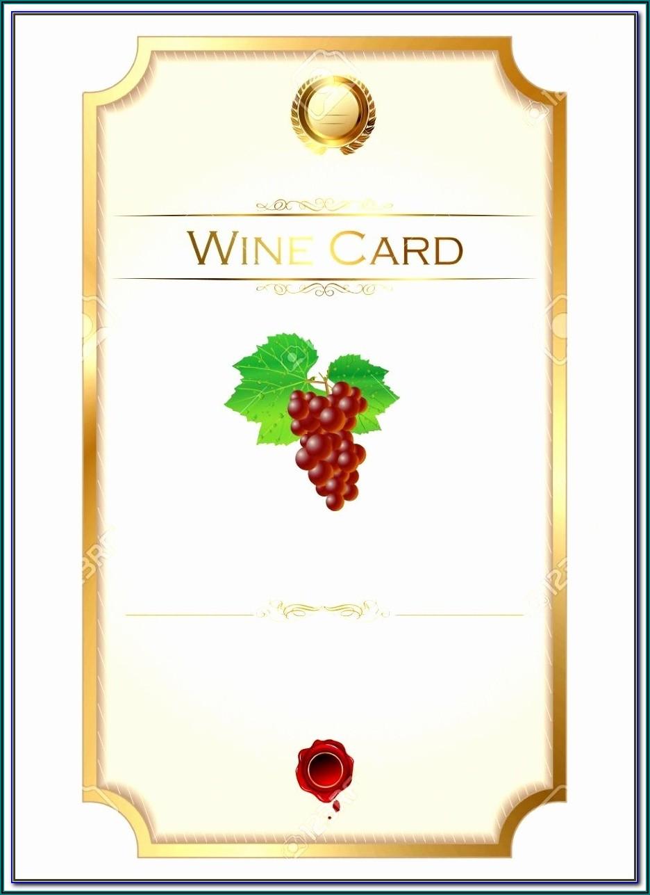 Mini Wine Bottle Label Template Free Download