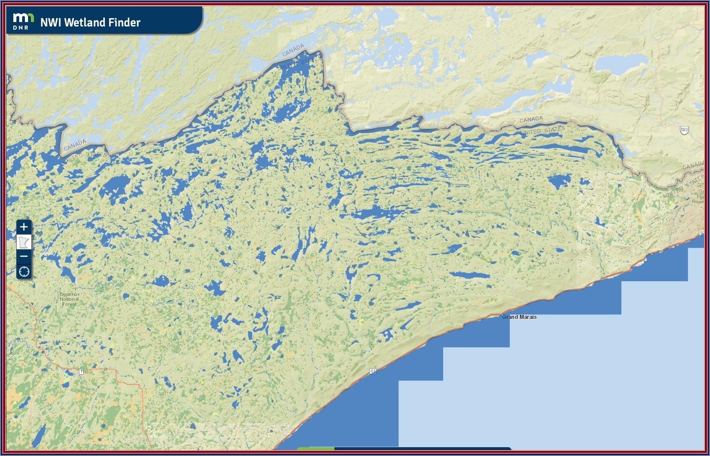 Mn Lake Maps Free Download